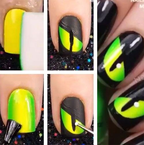 Makeup Ideas 2017 2018 18 Best Easy Halloween Nails Art Tutorials