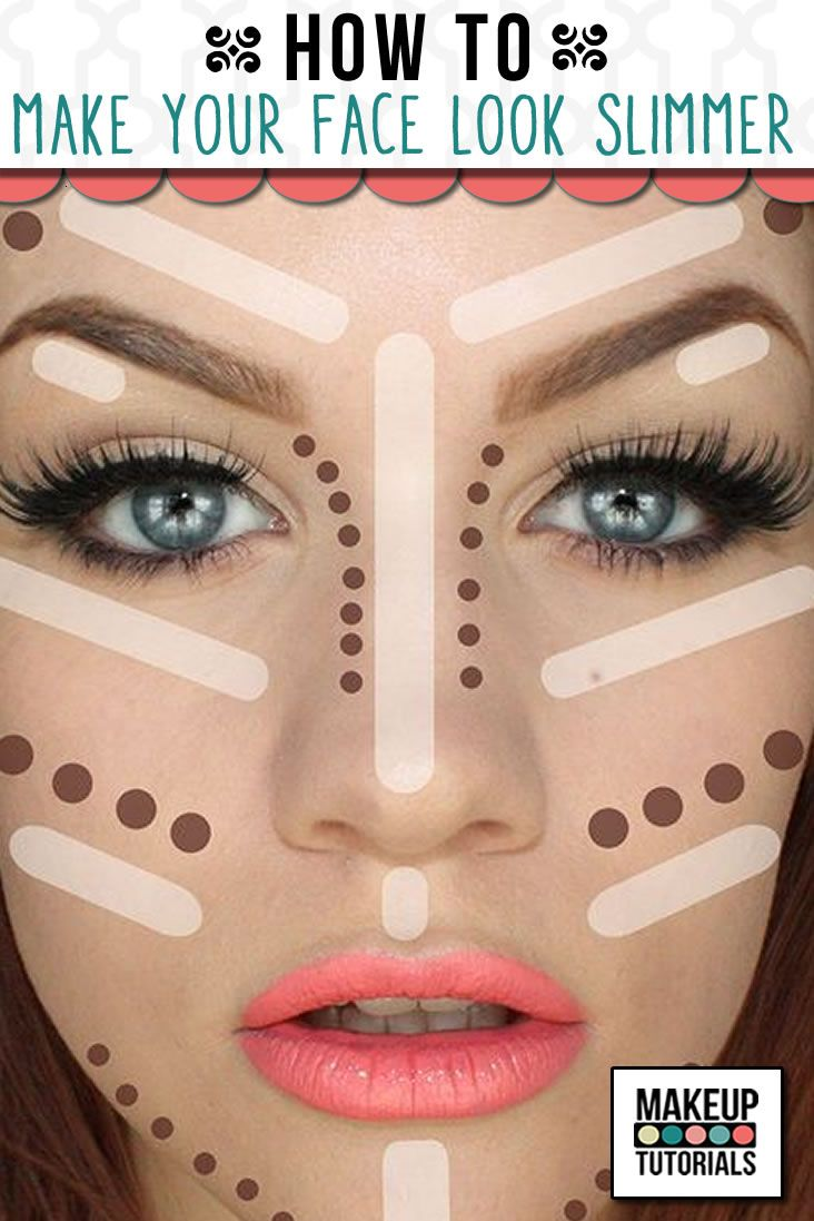 Are you having trouble learning to slim your face? Learn contouring skills using...