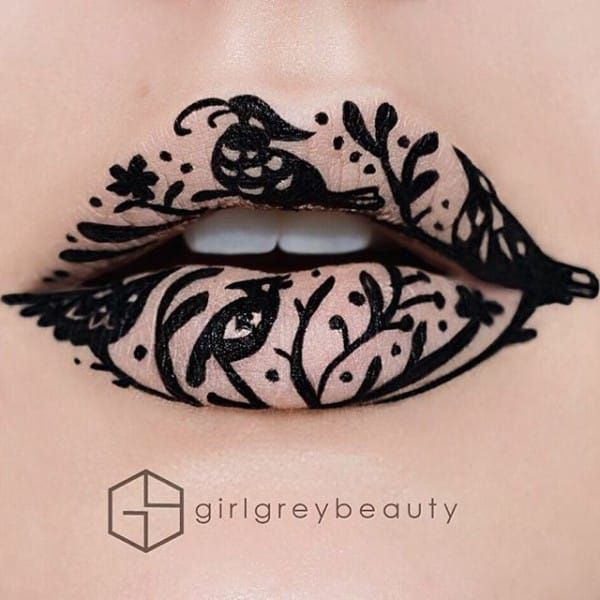 16 Unbelievable Lipstick Designs That Will Change The Way You See Makeup