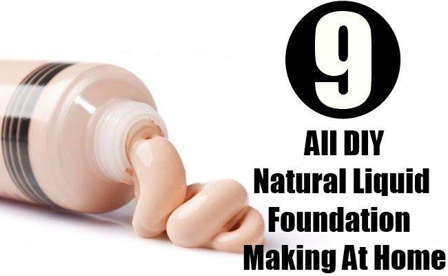 DIY Natural Liquid Foundation Making At Home