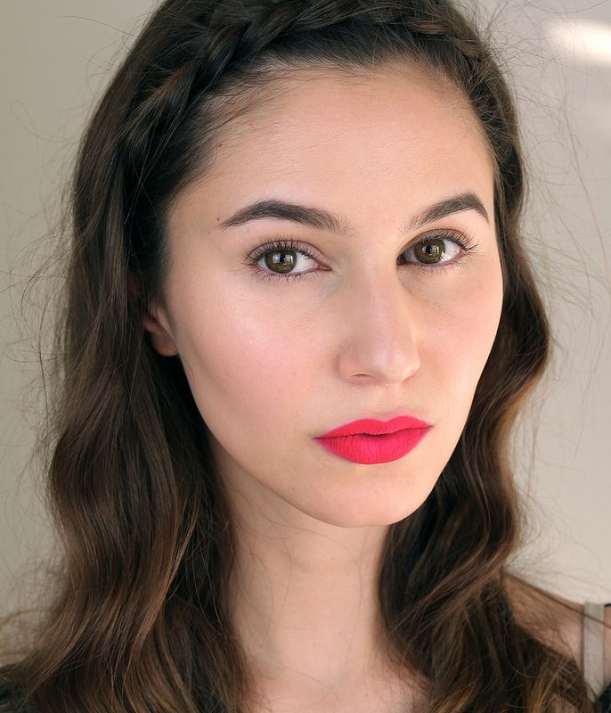 Editorial Neon Lip Makeup Tutorial Video - Shameless Fripperies. Products used: ...