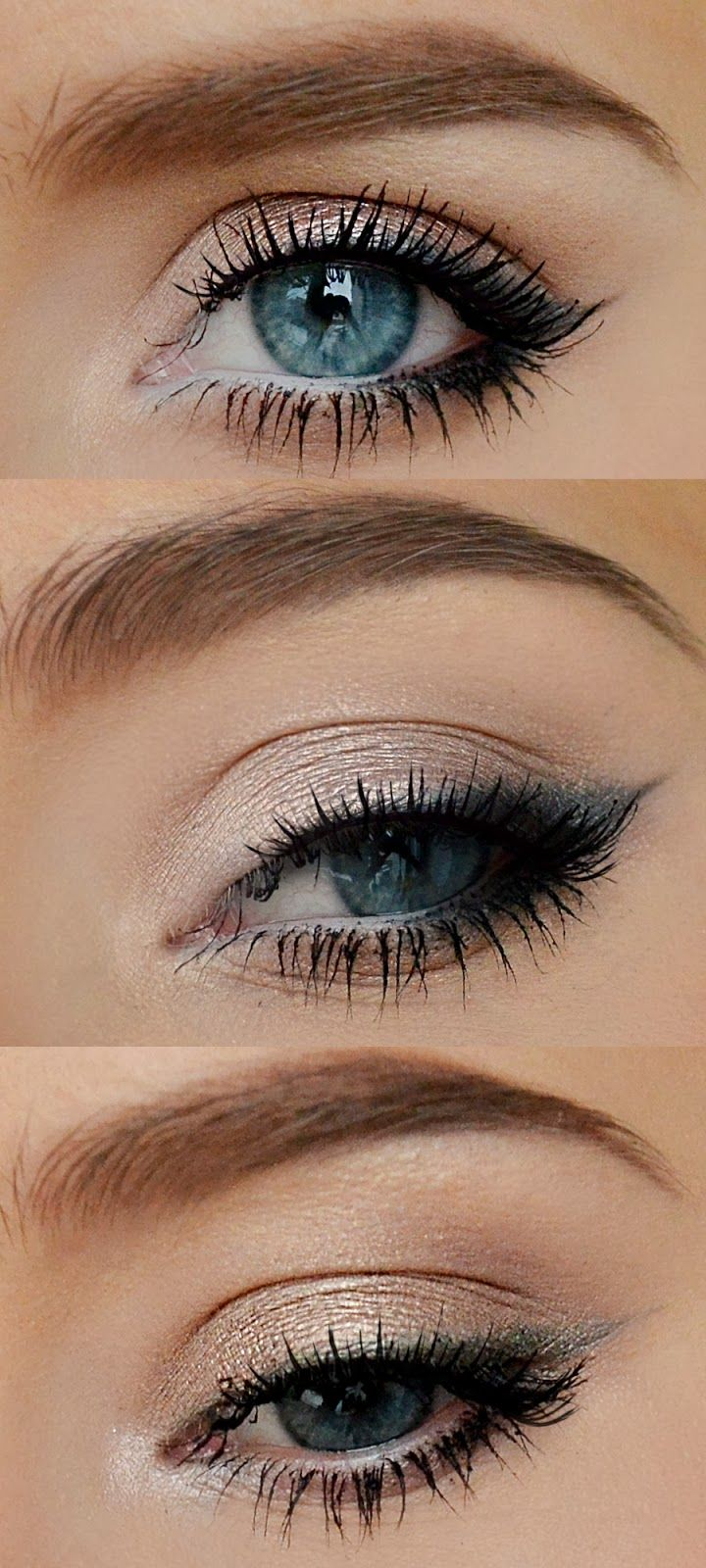 Everyday Naked Palette Combos.  Colours used are by Urban Decay.  Straight to we...
