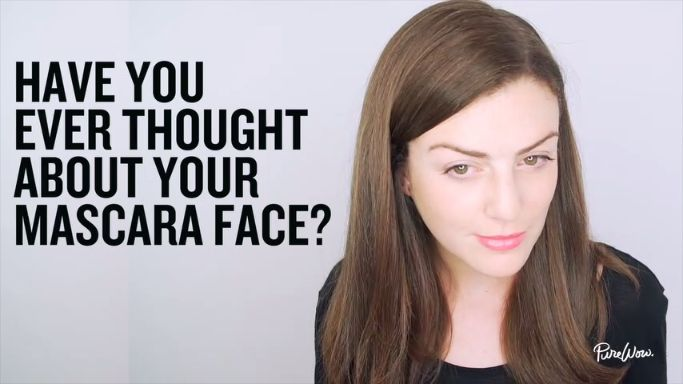 Fact: Every woman has a mascara face—that extremely concentrated look you make...