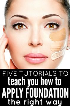 From the top 10 foundations, to 10 different foundation application techniques, ...