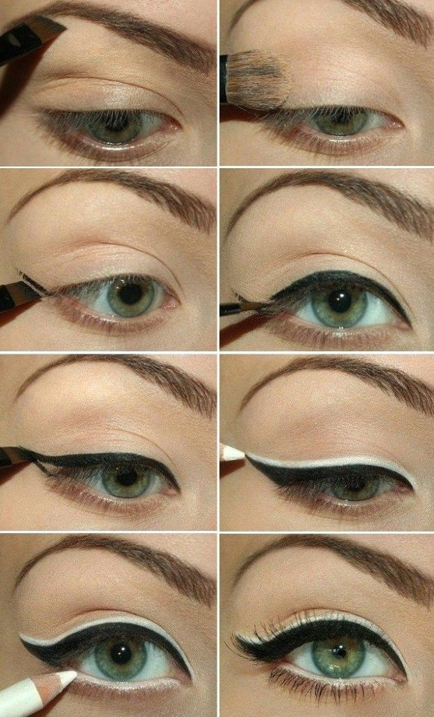 How to Use Eyeliners for Green Eyes | Makeup Tricks by Makeup Tutorials at makeu...
