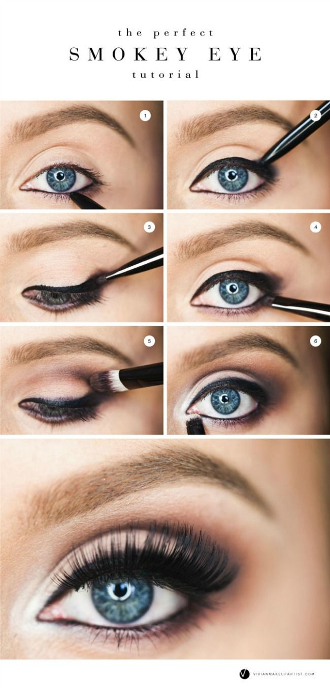 How to apply eye makeup for a daytime or night time look are a snap with these s...