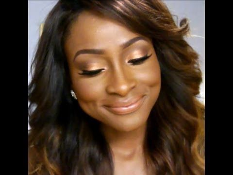 I love her tutorials! Great advice for ladies with dark skin that like to look n...