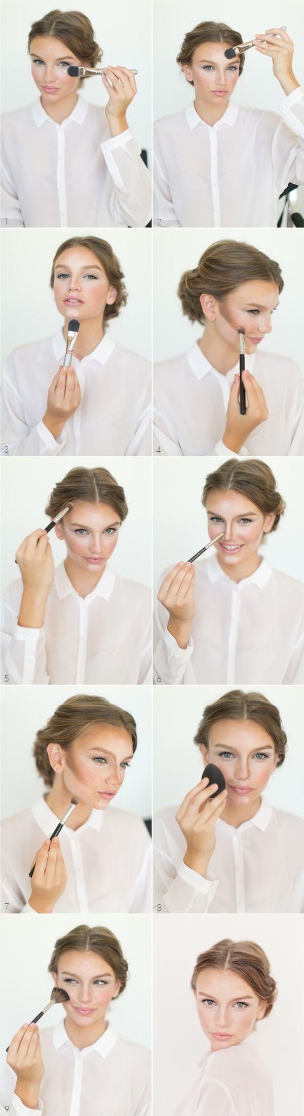 MODbeauty: Natural Glamorous Wedding Makeup tutorial - Photographer: Bryce Covey...