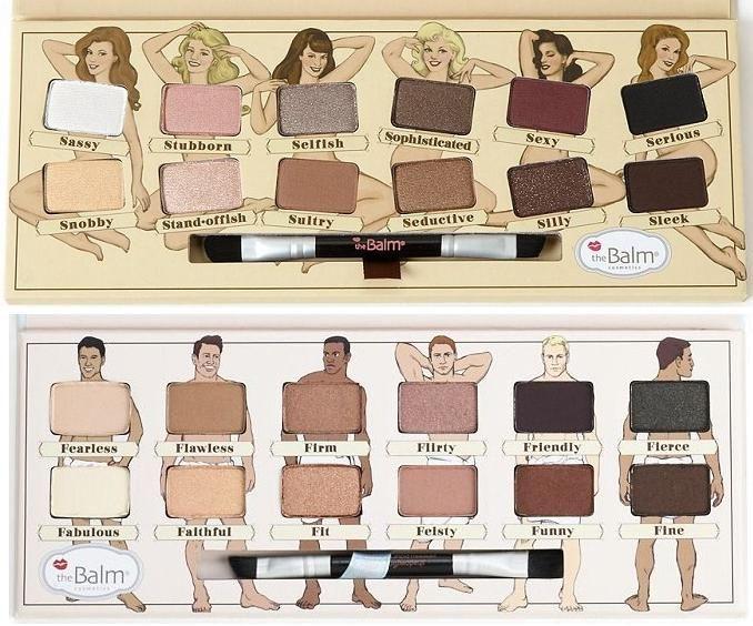 NEW theBalm Nude Dude Eyeshadow Palette next to theBalm Nude 'Tude Eyeshadow...