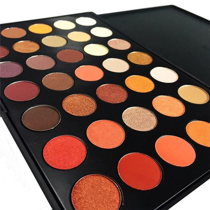 Newest 35 Colors Shimmer Matte Eye shadow Professional Makeup Eyeshadow Palette ...