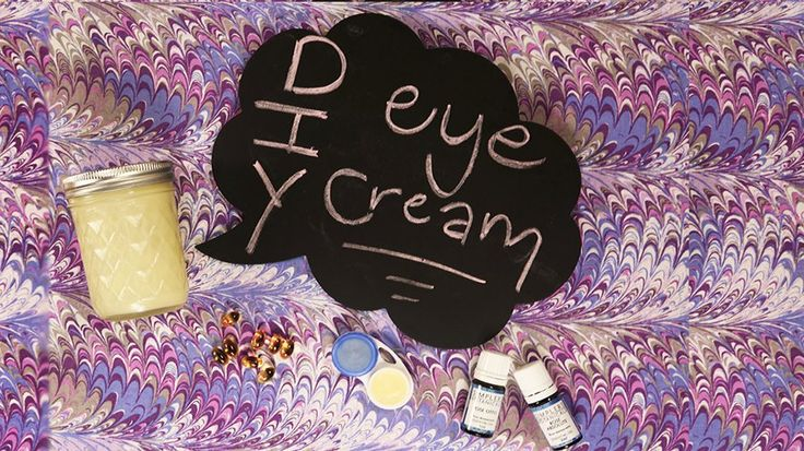 Only 3 Ingredients to This DIY, Collagen-Boosting Eye Cream: Eye cream is necess...