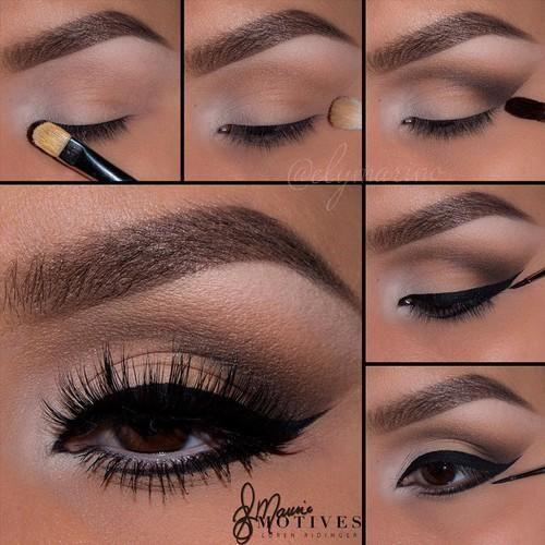 Perfekcyjny makijaż na imprezowy wieczór i niezwykle prosty w wykonaniu.