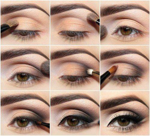 Soft Night Eye Makeup Idea