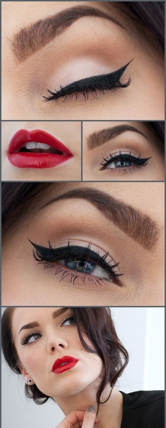 This look is SUPER easy to create using just a couple of Avon products! #avon I ...