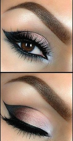 Tutorial: Beautiful Smokey Eye Makeup - Want to do it yourself? Click on the ima...