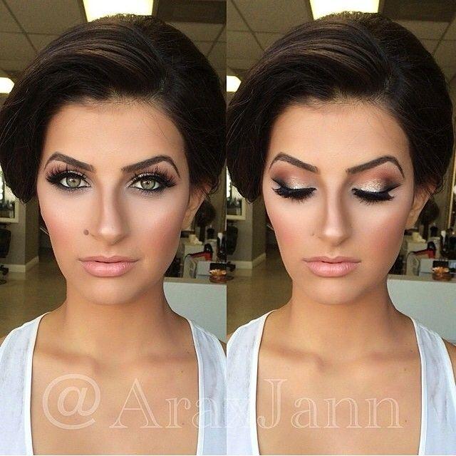 Wedding Makeup Ideas thepageantplanet....