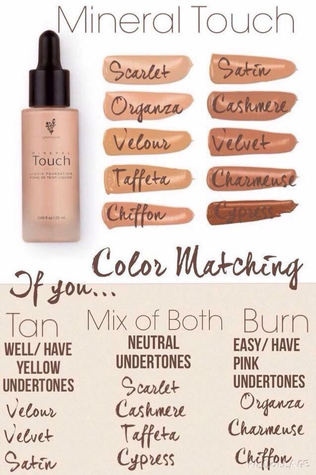 Younique Mineral Foundation colors  To order contact me at…