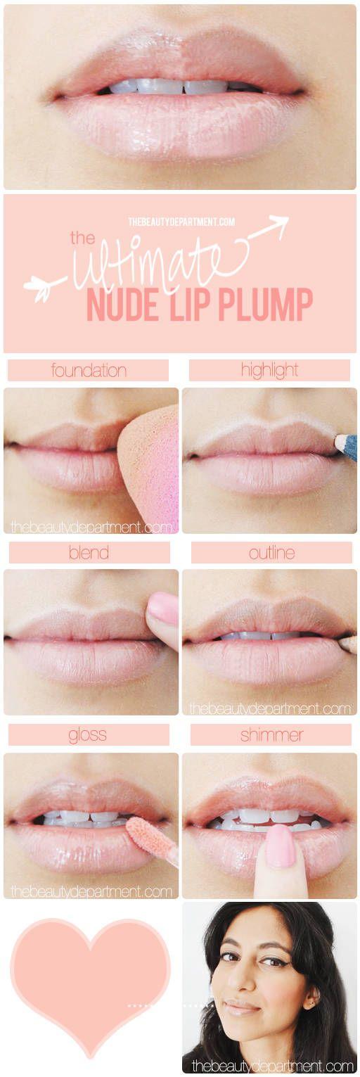 thebeautydepartme... nude lip plump