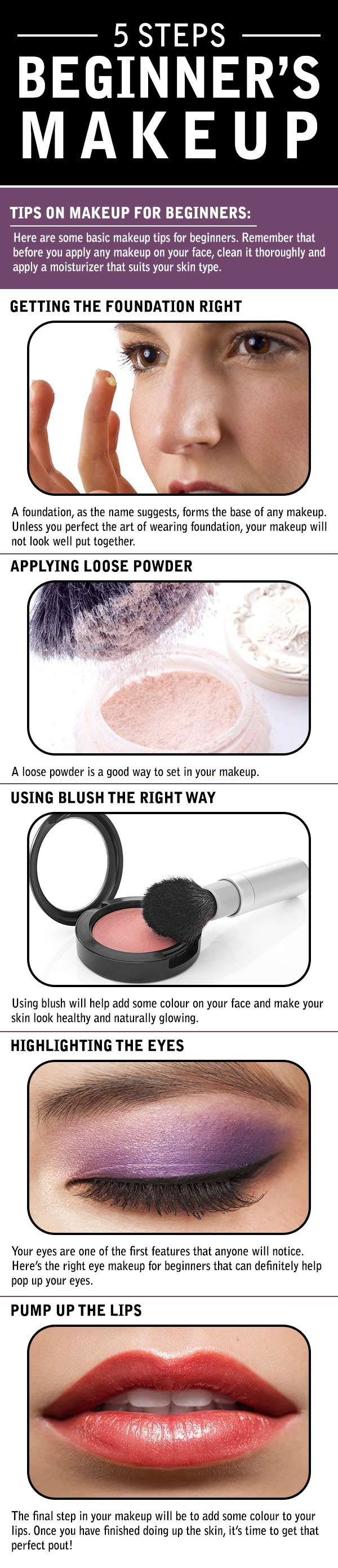 you just start off and this where basic tips on makeup for beginners are of grea...