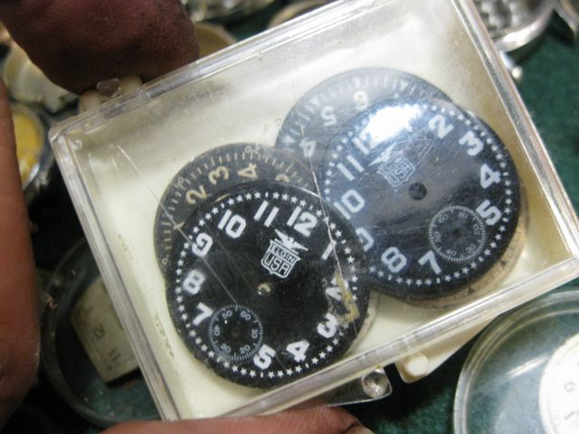 WW2 Elgin Military 24 Hours Center Second Watch with Original Case - Google Sear...