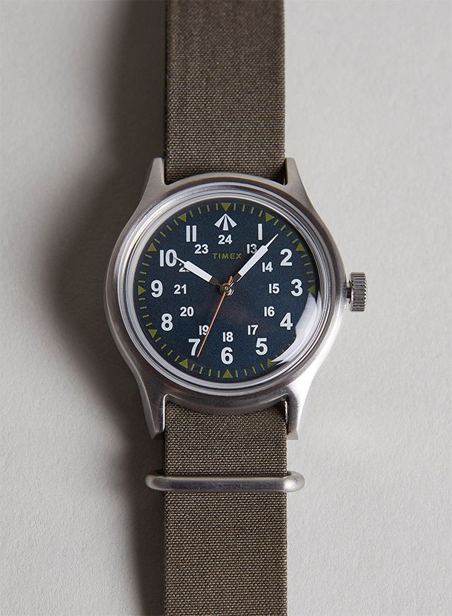The watch, called 'Nam', pays tribute to photojournalist Sean Flynn