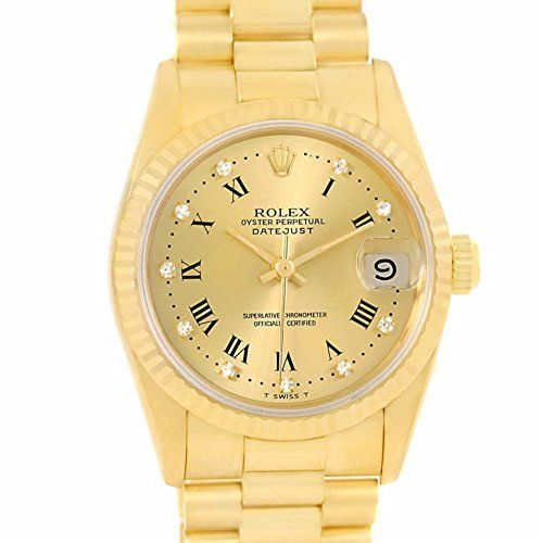 Rolex Day-Date automatic-self-wind womens Watch 68278 (Certified Pre-owned) ** C...