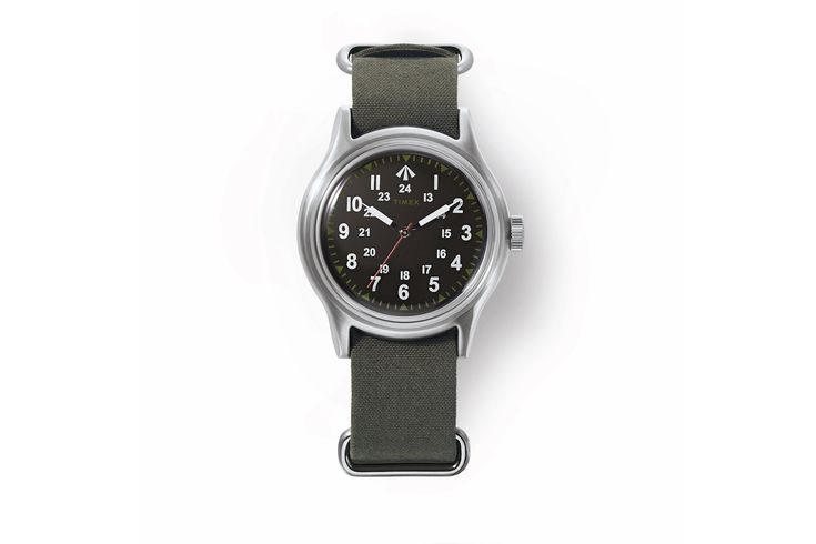 Timex & Nigel Cabourn Link for Military-Inspired NAM Watch