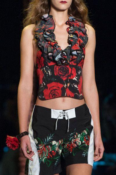 Anna Sui at New York Fashion Week Spring 2016