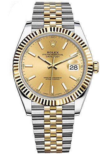 Rolex Datejust 41 Stainless Steel