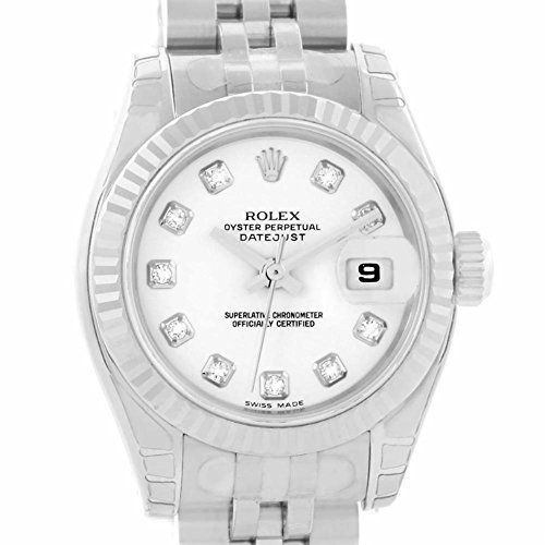 Rolex Datejust automatic-self-wind womens Watch 179174 (Certified Pre-owned) ** ...