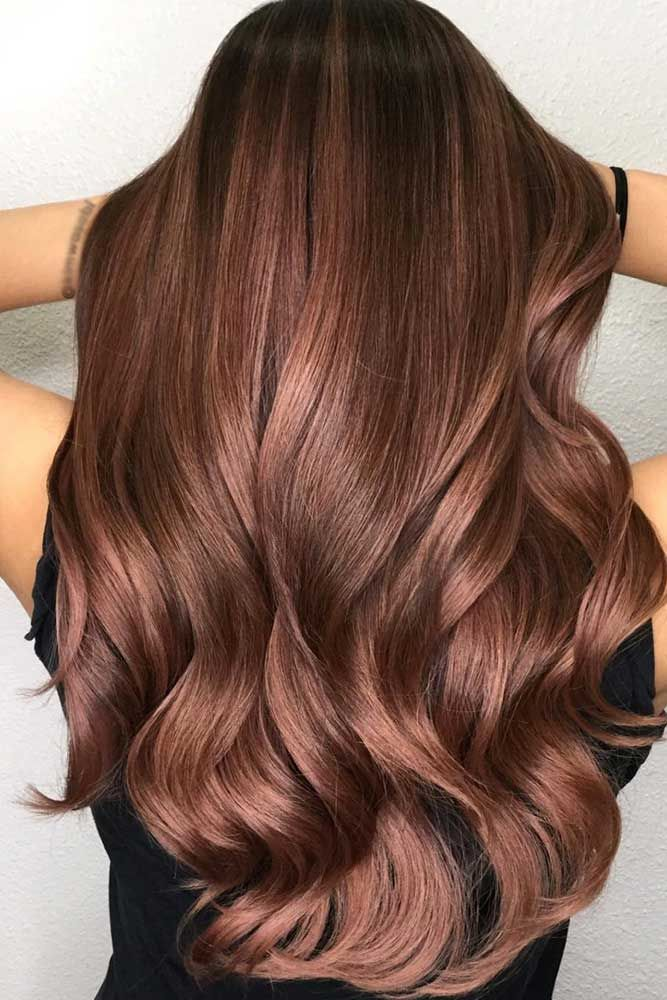Hair Color 2017 2018 Gorgeous Warm Chestnut Shade With Darker