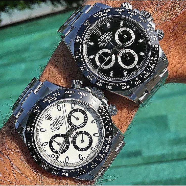 Pair of Aces. The New Rolex Daytona Ceramic 116500. See site. #rolex #rolexero...
