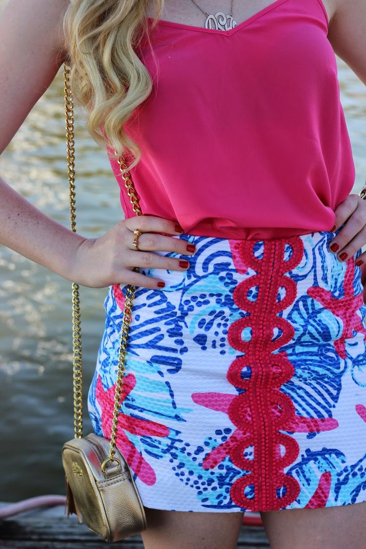 @Lilly Pulitzer skirt in She She Shells Teen fashion Cute Dress! Clothes Casual ...
