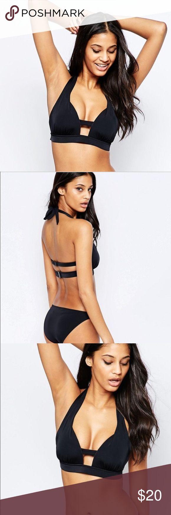 ASOS Fuller Bust Lattice Moulded Bikini Top This bikini top is perfect for someo...
