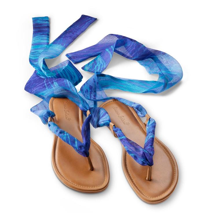Capri Sandals Blue