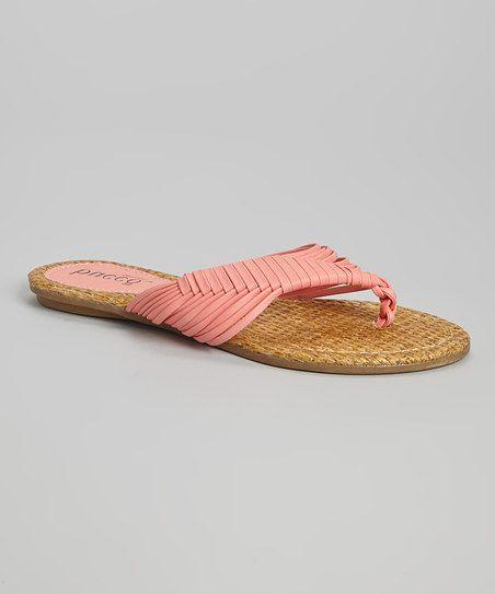 Coral Lypsie Sandal