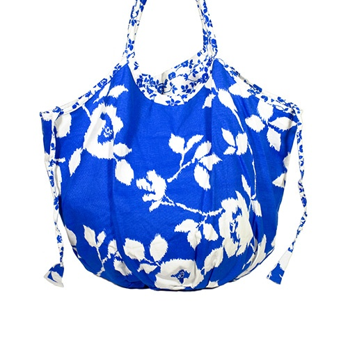 Floral Bucket Beach Tote by Echo