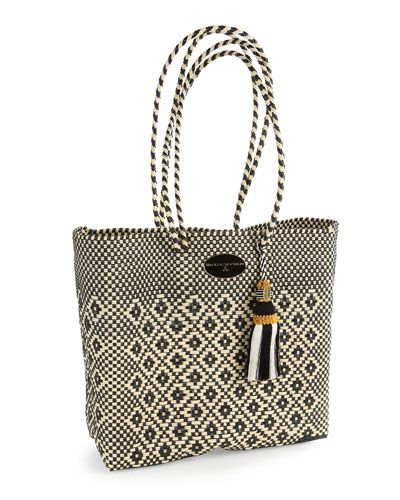 H882C MacKenzie-Childs Courtyard Tote
