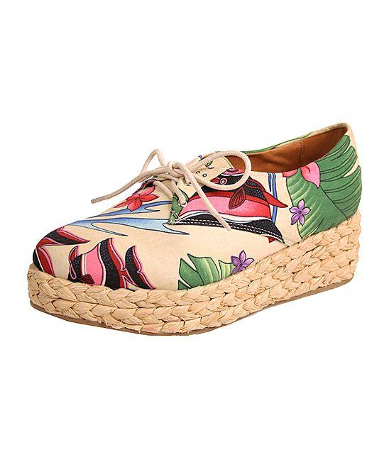 Lace-Up Platform Shoe