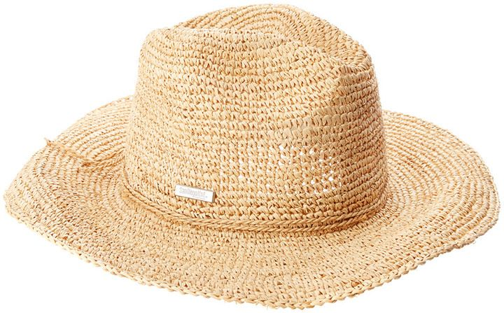 San Diego Hat Company Women's Pinched Crown Fedora