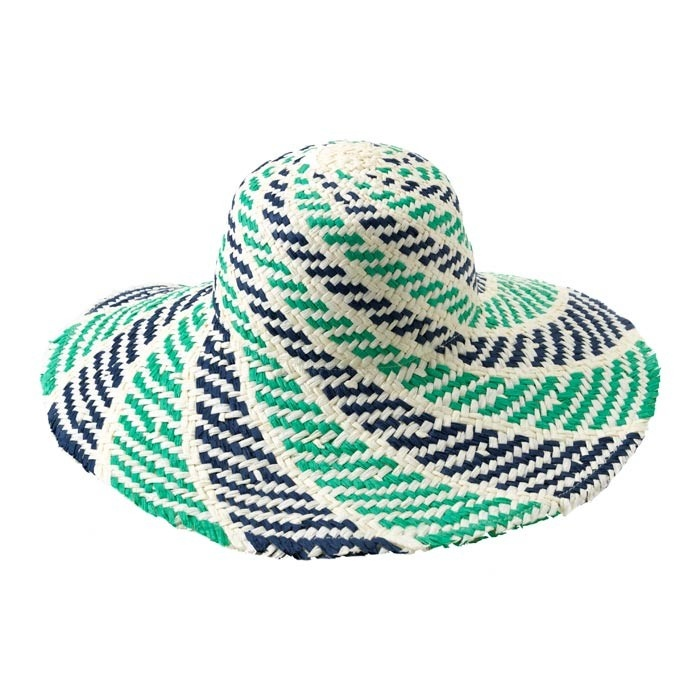 Sorrento Sun Hat in Aqua