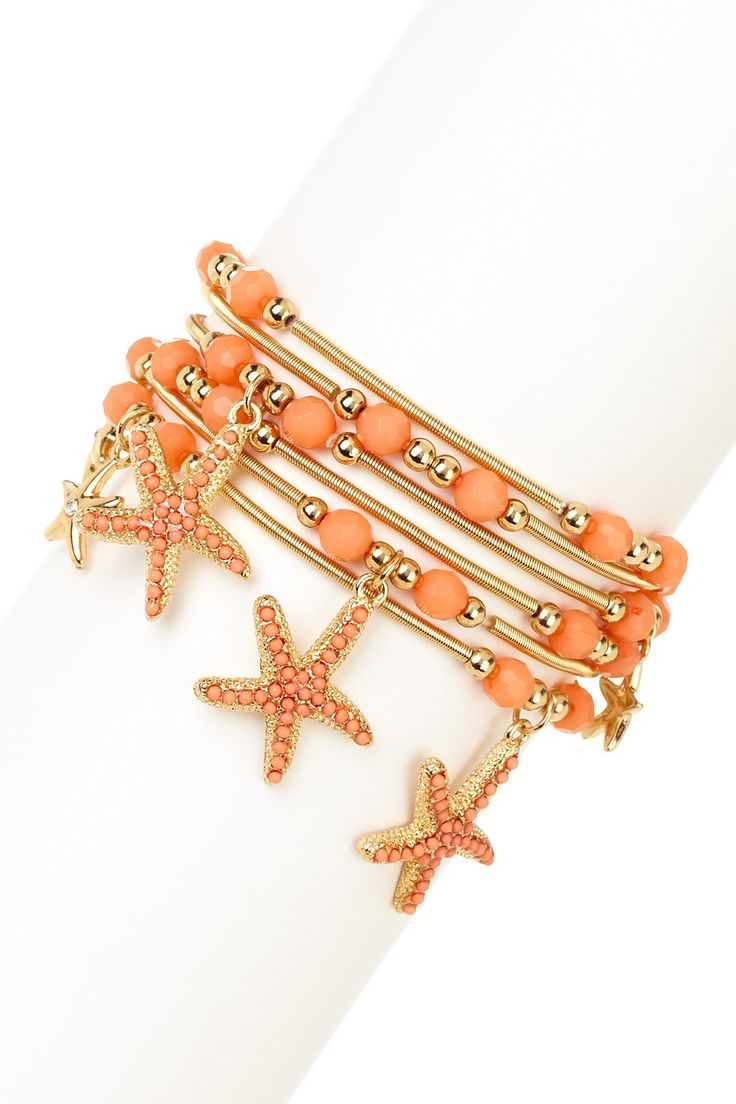 Starfish Bracelet Set