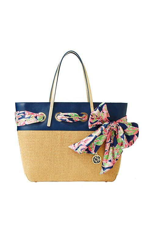 The Straw Resort Tote is the perfect vacation bag. From a travel bag to a tote f...