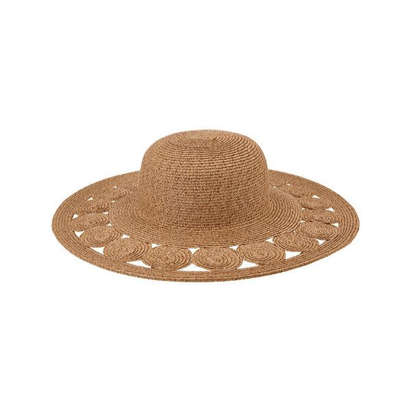 Women's San Diego Hat Company Ultrabraid Sun Hat UBL6481 ($49) ❤ liked on Poly...