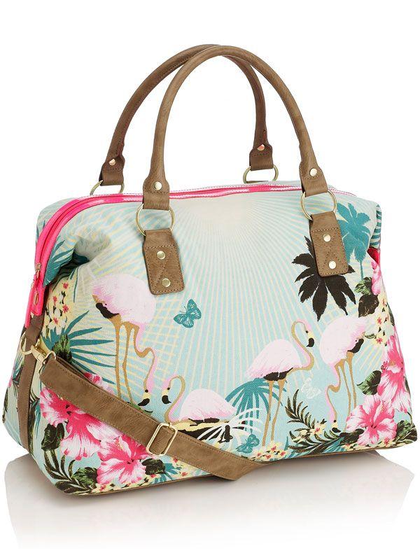 (vu) Flamingo bag