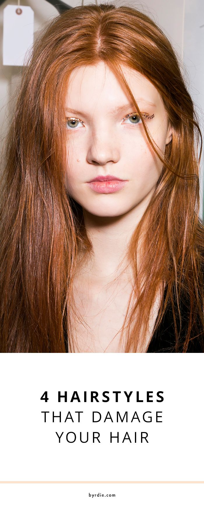 4 hairstyles that are actually damaging your hair