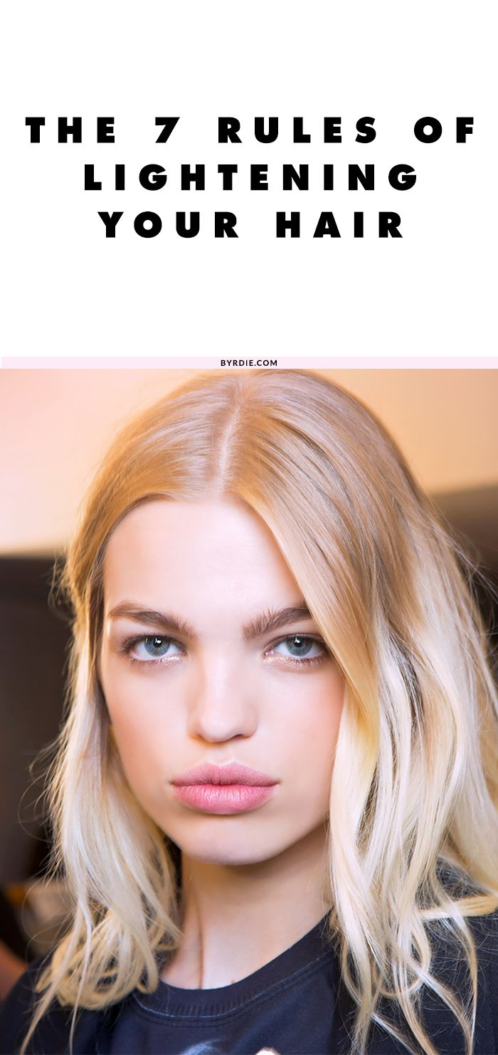 7 must-know secrets for keeping lightened hair vibrant and healthy