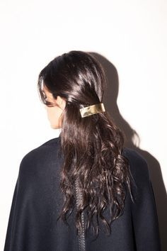 Inside Jewelry Designer Ana Khouri's Closet: Cape, Hermes; Barrette, Ana Khouri ...