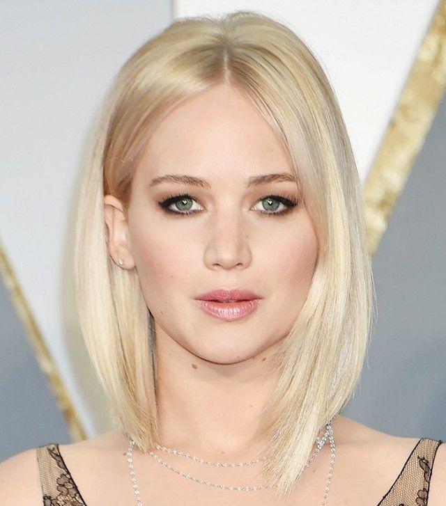 Jenniefer Lawrence's platinum blonde bob