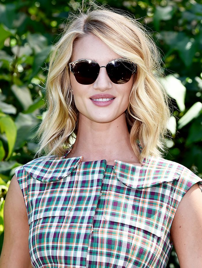 Rosie Huntington-Whiteley's lived-in hair